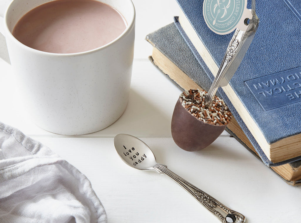 Double Layered Hidden Message Chocolate Spoon