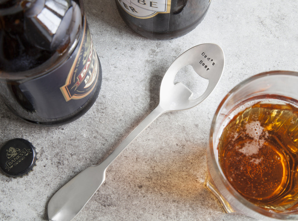Personalised Spoon Bottle Opener - SECONDS