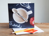 Personalised Spoon Card - a card and gift in ONE!!