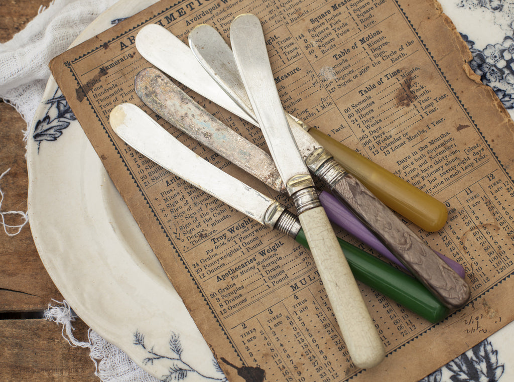 Personalised Vintage Bakelite Butter Knife