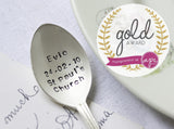 Personalised Christening Teaspoon