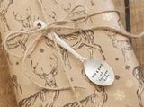 Personalised Spoon Gift Tag