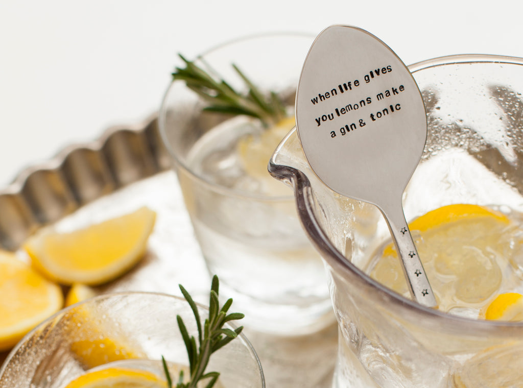 Personalised Spoon Drink Stirrer