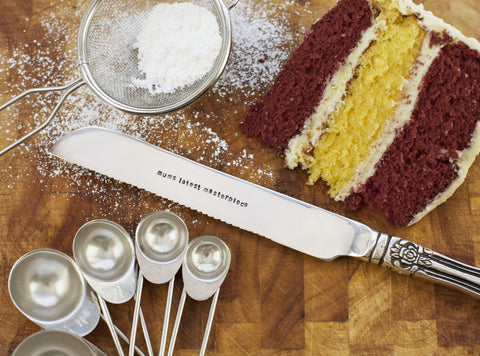 Personalised Cake Knife - Seconds