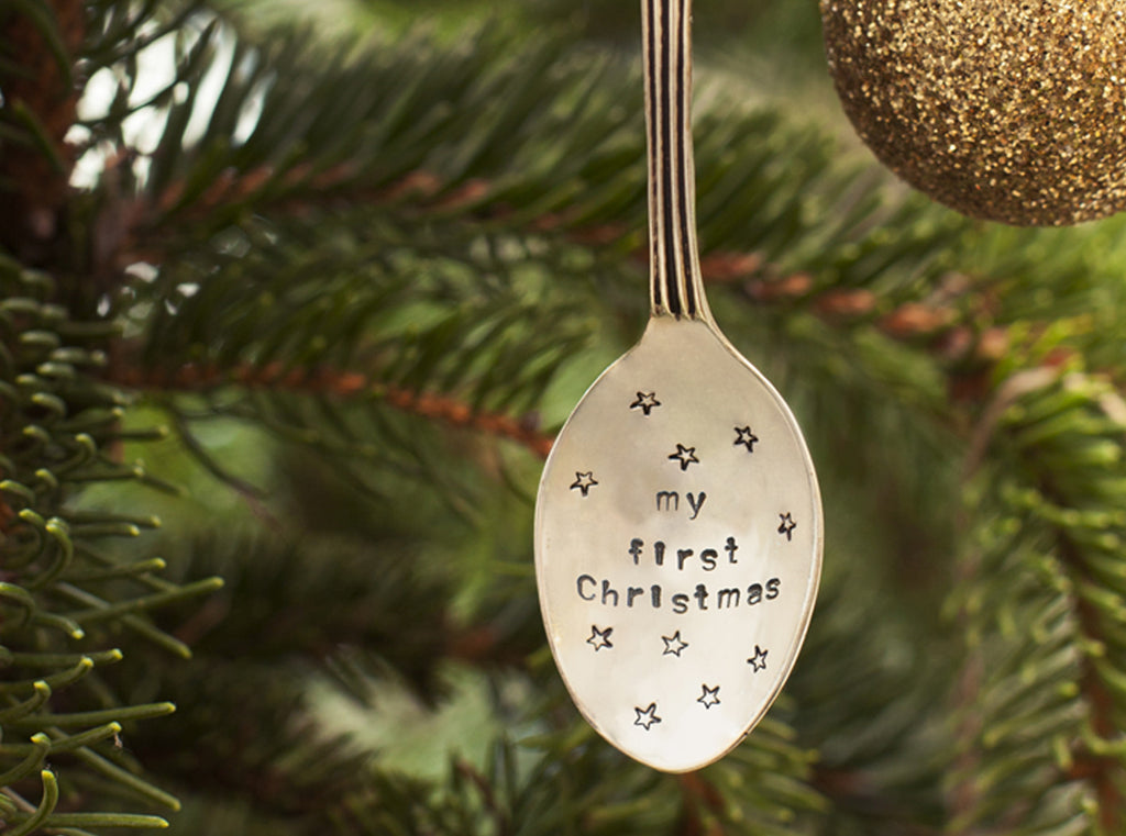 Personalised Spoon Tree Decoration