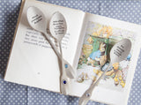 Personalised Birthstone Gemstone Tea Spoon
