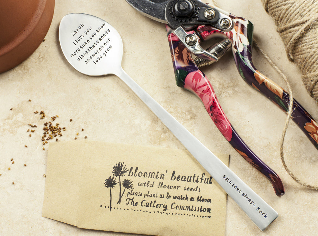 Personalised Spoon Plant Marker