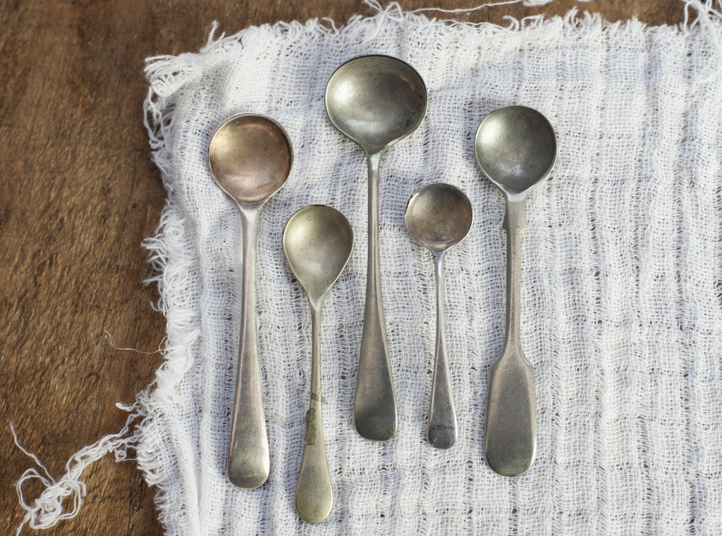 Personalised Vintage Salt Spoon