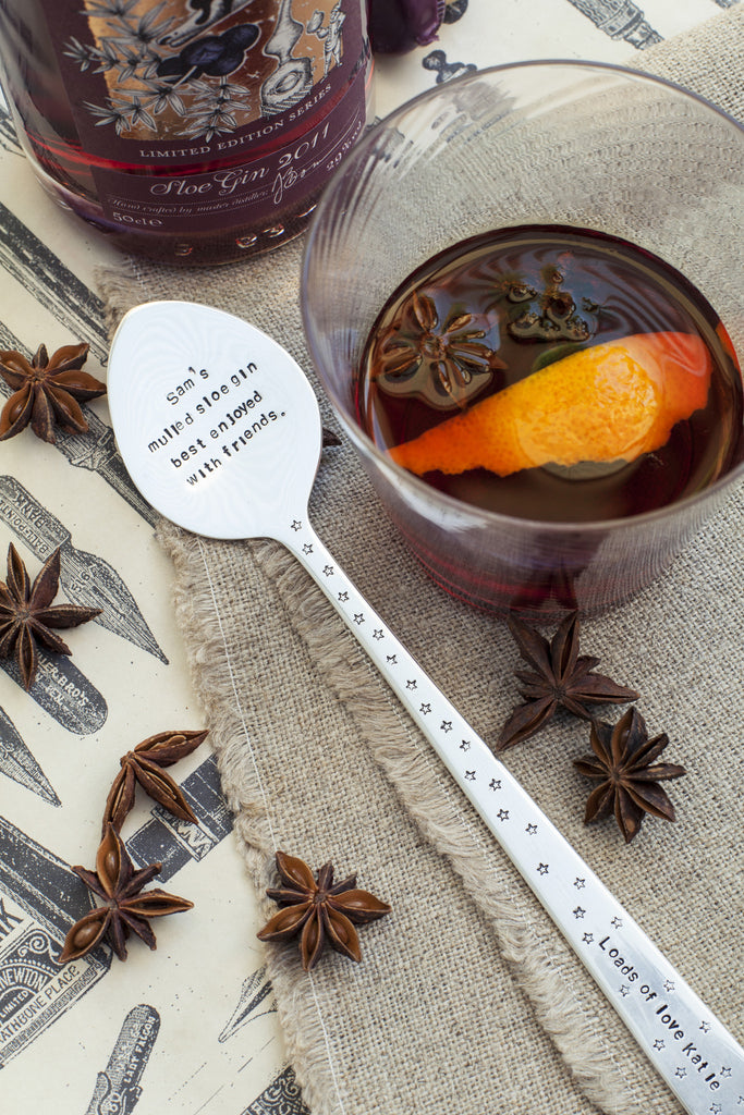 Personalised Spoon Drink Stirrer - Seconds