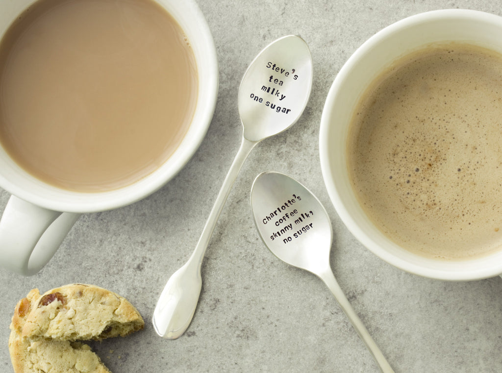 Personalised Teaspoon Set