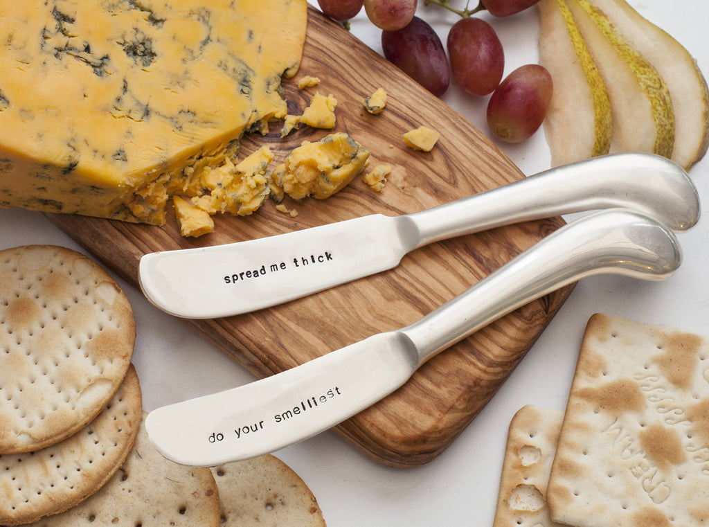Personalised Chunky Butter Knife - SECONDS