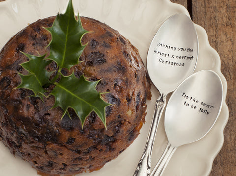 Personalised Christmas Dessert Spoon