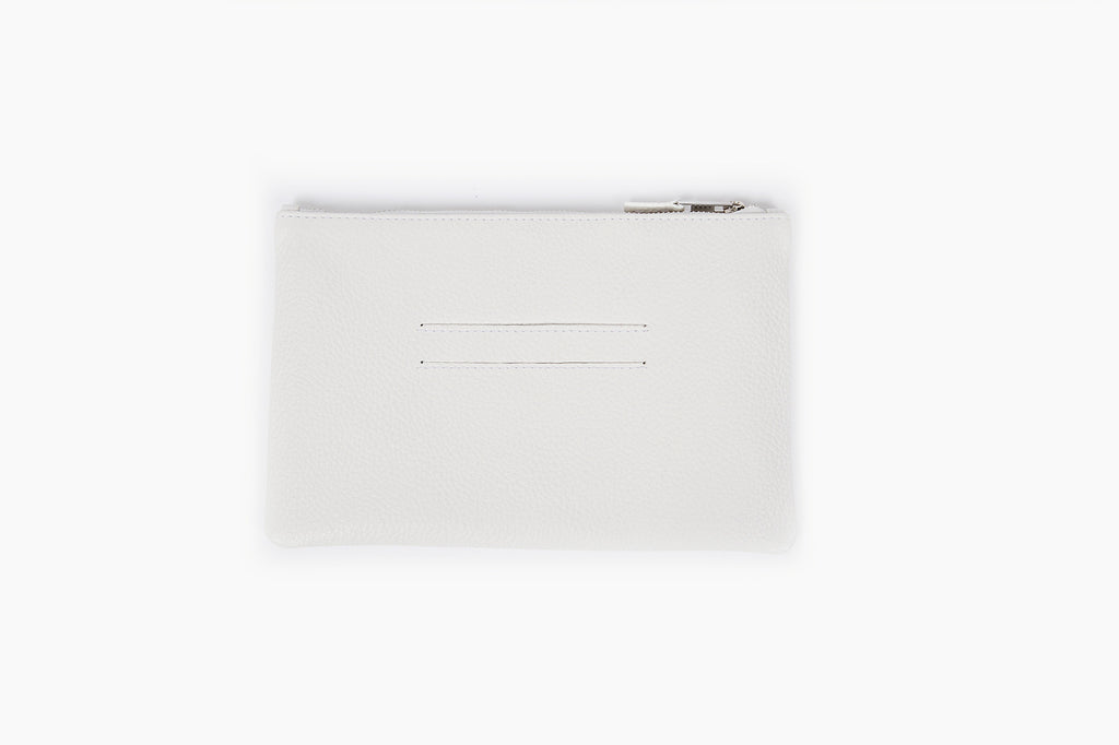Photo of Death in Paris Eclipse Blanc white acrylic box bag pouch