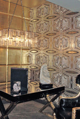 Rock On Wallpaper by Kimberly McDonald for Circa Wallcovering