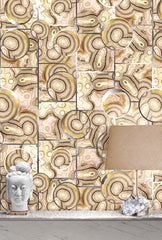 Glam Rock Wallpaper by Kimberly McDonald for Circa Wallcovering