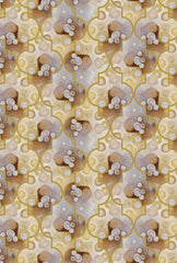 Stone Temple Wallpaper by Kimberly McDonald for Circa Wallcovering