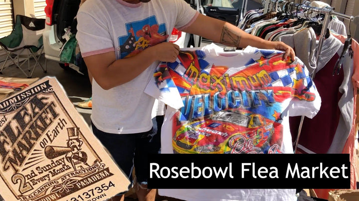 Selling Vintage at the Rosebowl Flea Market W/ Drew Heifetz