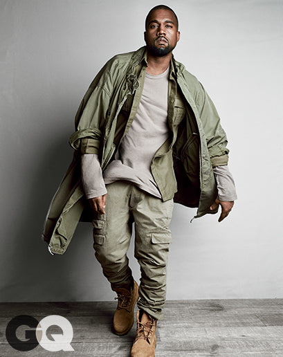 Kanye West for GQ Magazine August 2014 shot by Patrick Demarchelier6