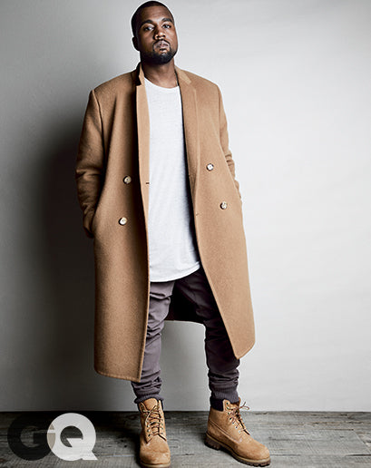 Kanye West for GQ Magazine August 2014 shot by Patrick Demarchelier7