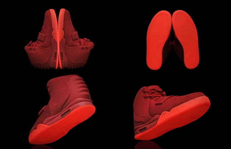 air yeezy 2 red october glow in the dark