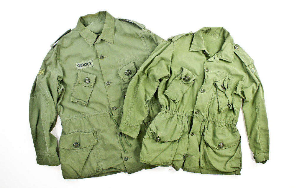 Canadian Military Jacket - F as in Frank Vintage - 001