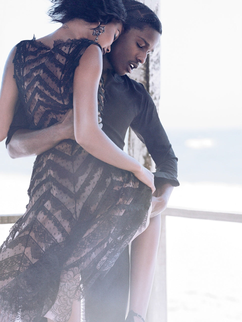 A$AP Rocky Chanel Iman Vogue Sept 2014 5