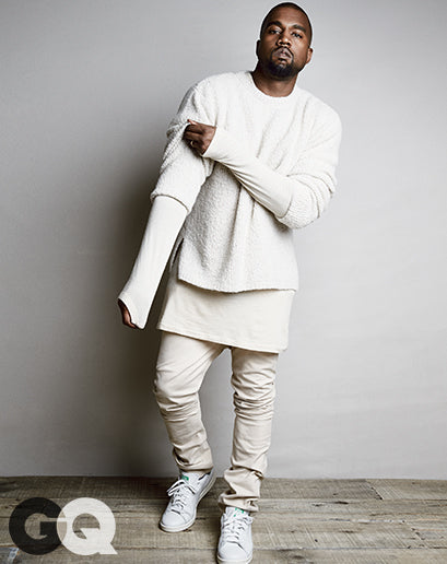 Kanye West for GQ Magazine August 2014 shot by Patrick Demarchelier4