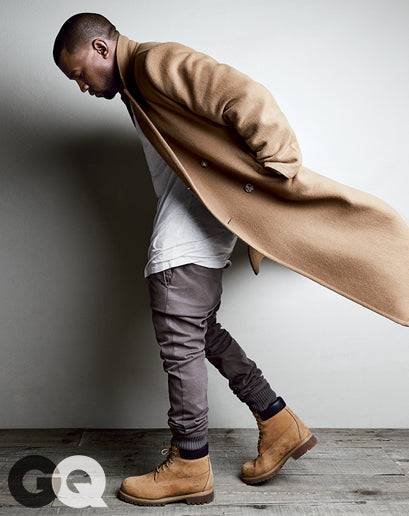 Kanye West for GQ Magazine August 2014 shot by Patrick Demarchelier8