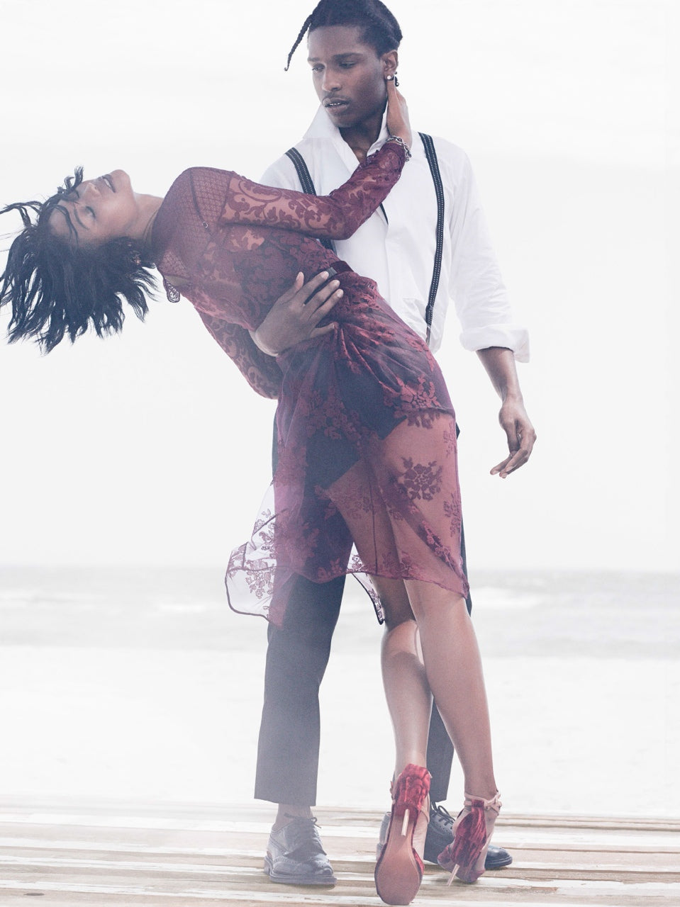 A$AP Rocky Chanel Iman Vogue Sept 2014 7