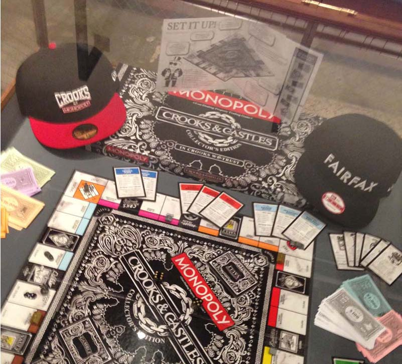 62b9bd95860 ... and Omarion were at the event playing monopoly with the Crooks fam and  other guest. They made there collective approach with the collaboration.
