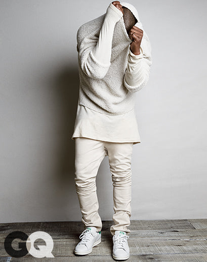 Kanye West for GQ Magazine August 2014 shot by Patrick Demarchelier3