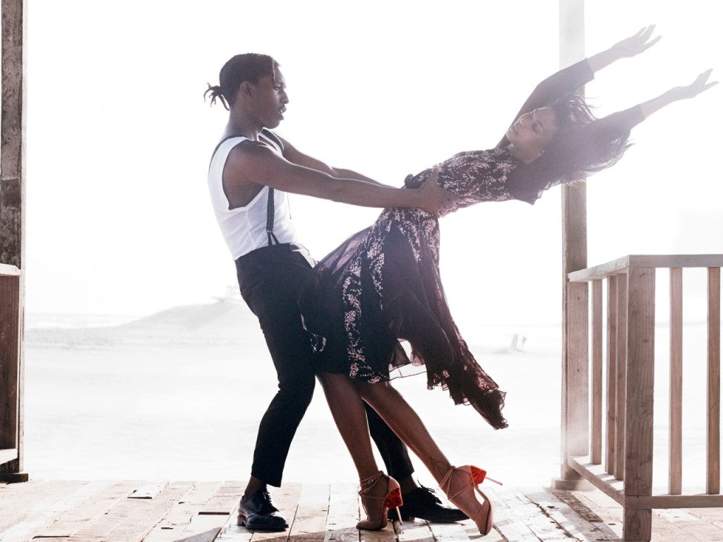 A$AP Rocky Chanel Iman Vogue Sept 2014 6