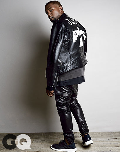 Kanye West for GQ Magazine August 2014 shot by Patrick Demarchelier5
