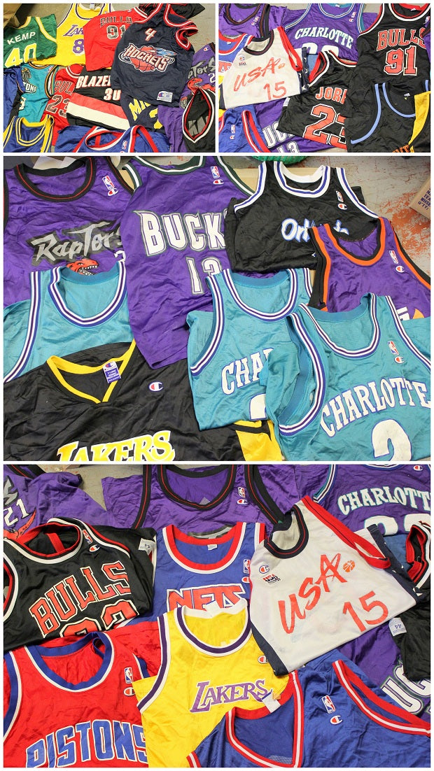 Fresh Vintage Champion Jerseys! \\u2013 F As In Frank Vintage,WJDIVWP320,While the competition is sleeping we are putting in work digging up the vintage goods! We have loads of fresh Champion NBA Jerseys in stock right now and