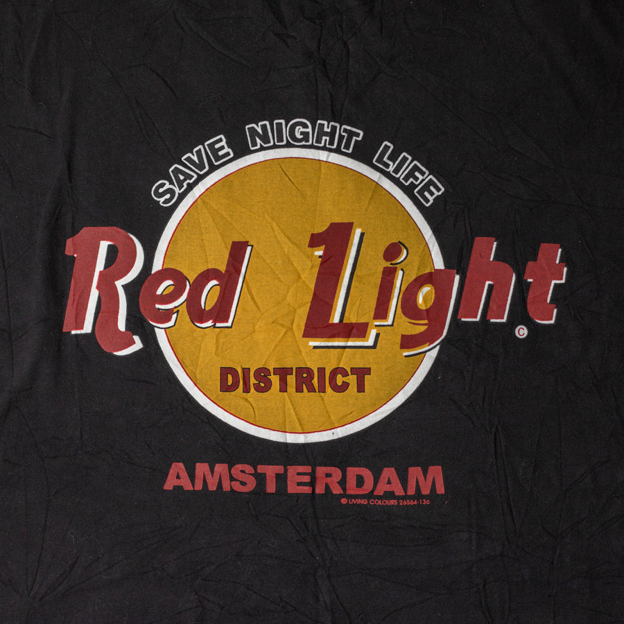 "Vintage Amsterdam ""Red Light District"" T-Shirt sz XL"