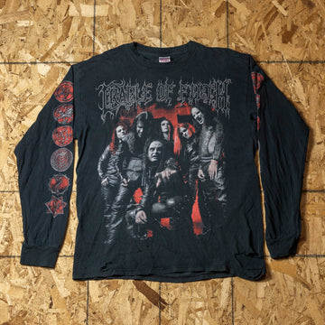 Vintage Cradle of Filth L/S T-Shirt sz L