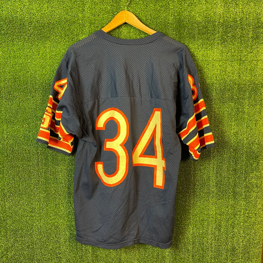 Vintage Rawlings Walter Payton Chicago Bears Football Jersey