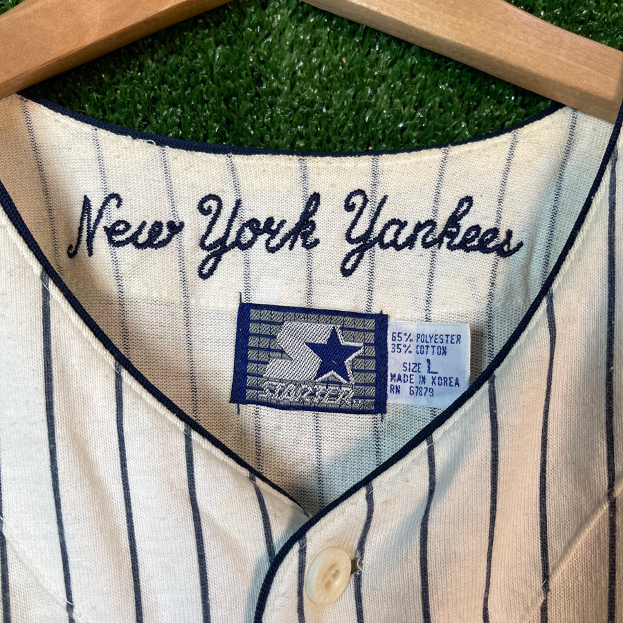 Vintage Starter New York Yankees MLB Baseball Jersey