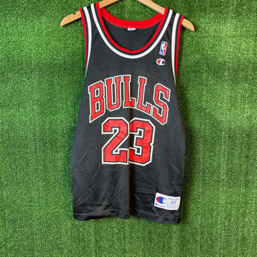 Vintage Champion Michael Jordan Chicago Bulls NBA Basketball Jersey