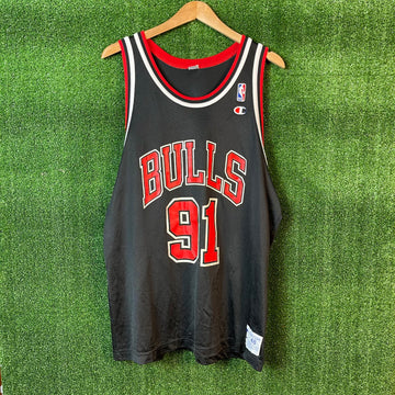 Vintage Champion Dennis Rodman Chicago Bulls NBA Basketball Jersey