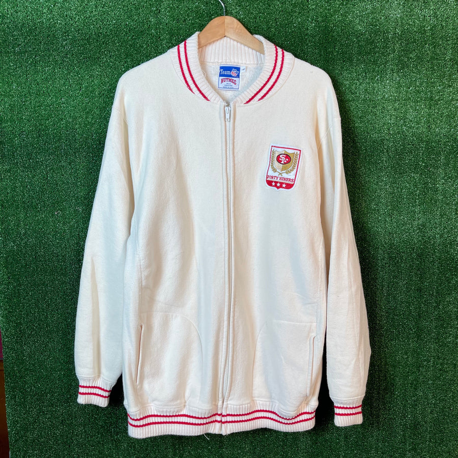 Vintage San Francisco 49ers Zip Up Jacket