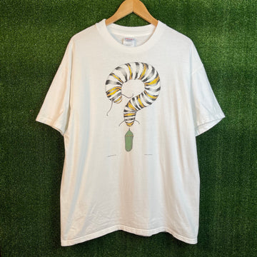Vintage Butterfly Earth T Shirt