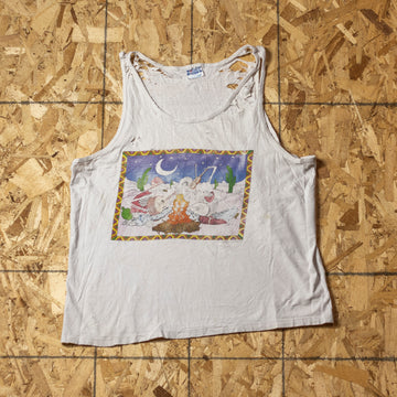Vintage Boneheads Single Stitch Tank Top sz XL