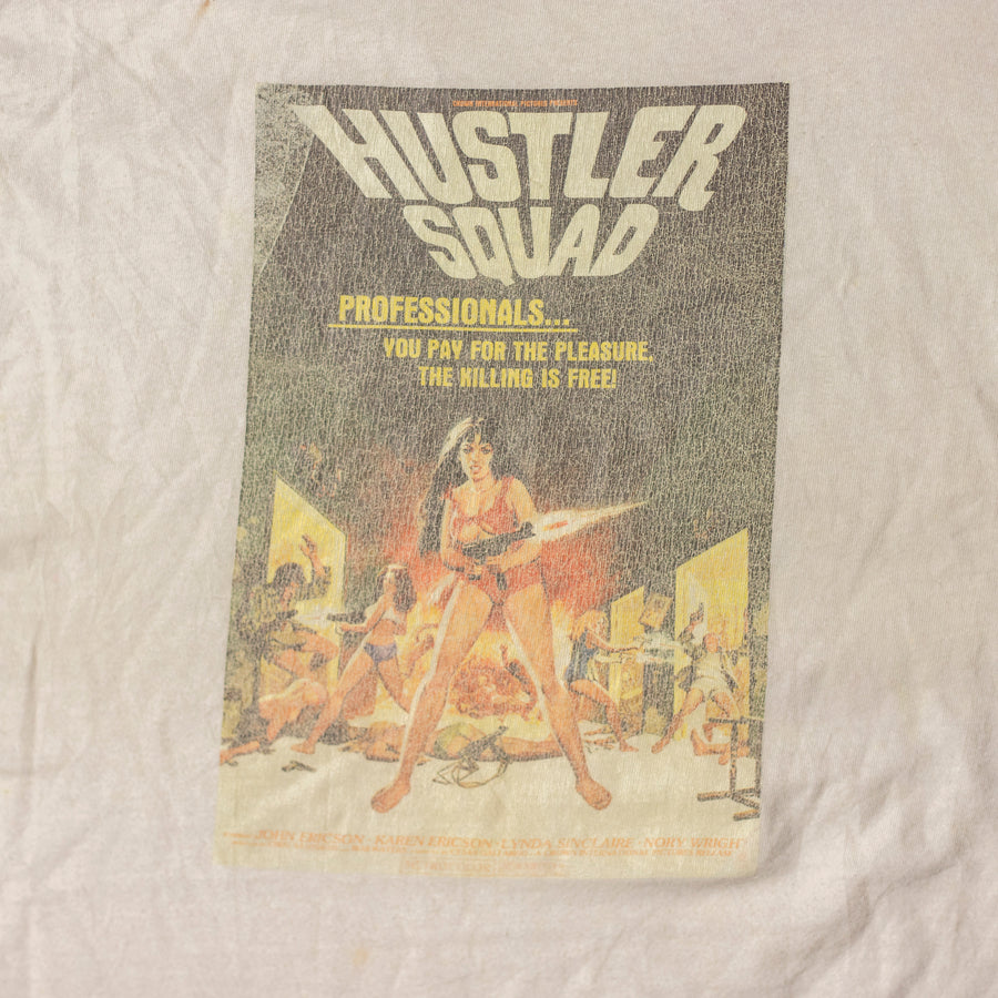 Vintage Hustler Squad Single Stitch Baseball T-Shirt sz M