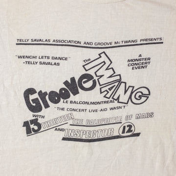 Vintage Groove Thang Single Stitch Ringer T-Shirt