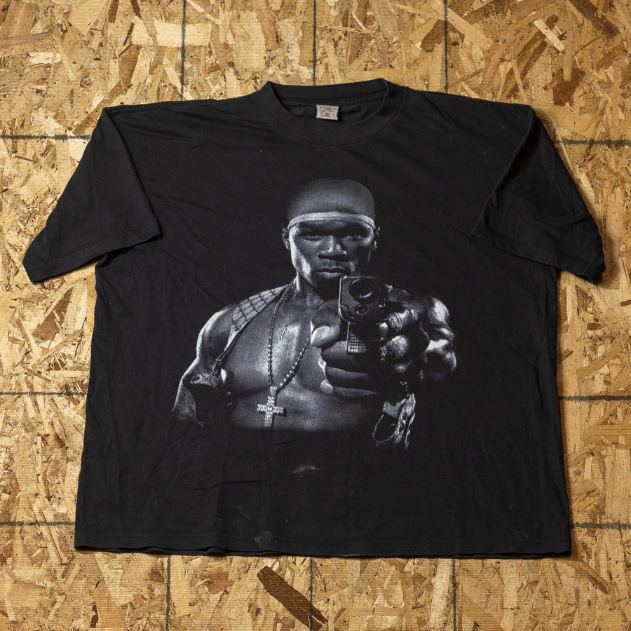 Vintage 50 Cent x G-Unit T-Shirt sz XXXL
