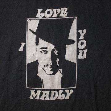 "Vintage ""I Love You Madly"" Single Stitch T-Shirt sz XL"