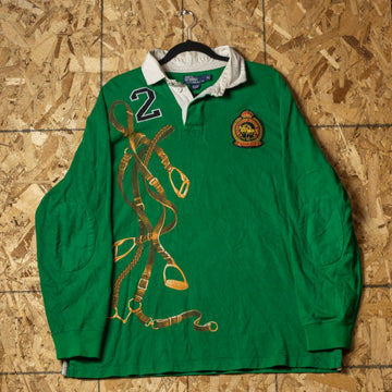Vintage Polo RL Winter Club L/S Shirt sz XL
