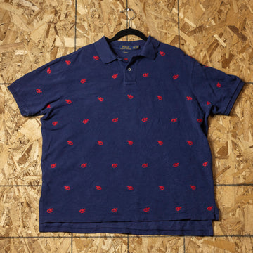 Vintage Polo Lobster Shirt sz XXL