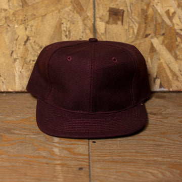 Deadstock Dark Purple Snapback Hat